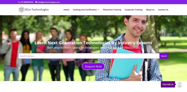 glimtechnologies-mubieinfotech-portfolio