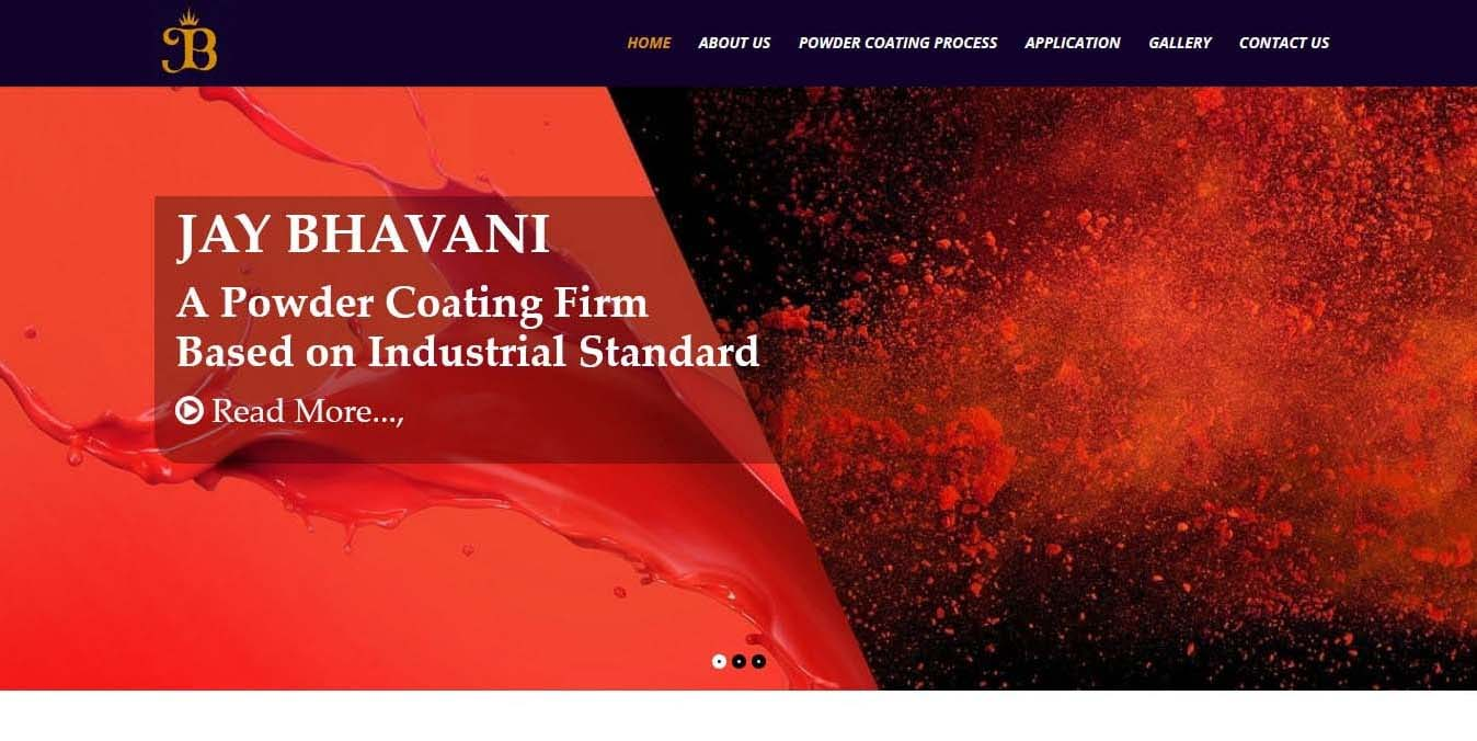 jaybhavanipowdercoating-mubieinfotech-portfolio