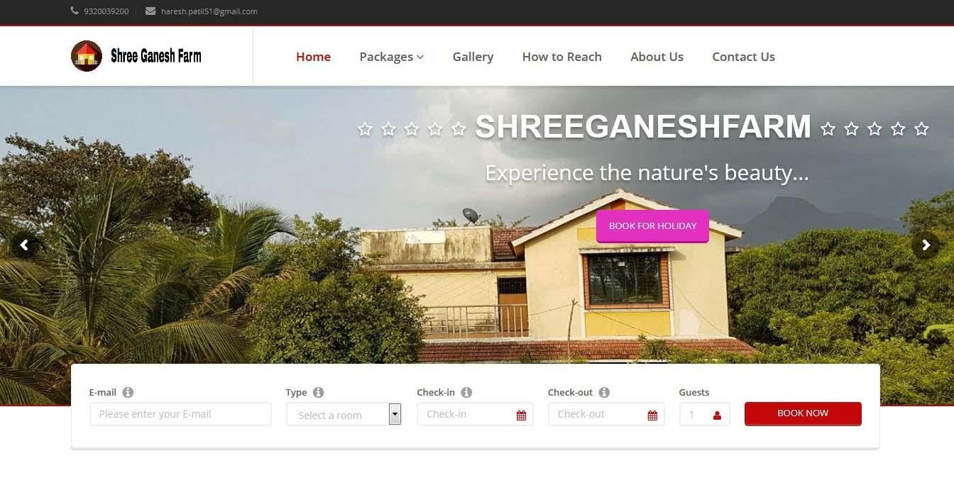 shreeganeshfarm-mubieinfotech-portfolio
